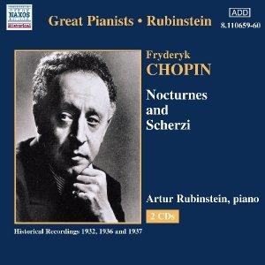 CHOPIN: Nocturnes and Scherzi (Rubinstein) (1936-1937)