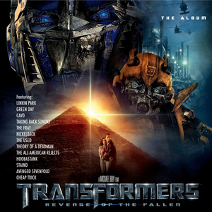 Transformers: Revenge of the Fallen The Album Album Artwork