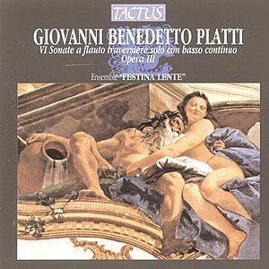 Platti: VI Sonate A Flauto Traversiere Solo Con Basso Continuo Opera III