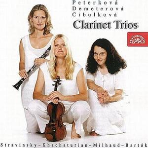 Bartok / Khachaturian / Milhaud / Stravinsky: Clarinet Trios