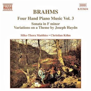 BRAHMS: Four-Hand Piano Music, Vol. 3