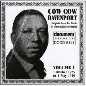 Cow Cow Davenport Vol. 1 (1925-1929)