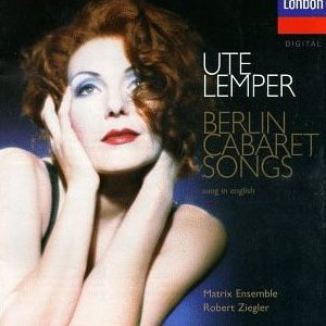 Berlin Cabaret Songs (Sung in English)