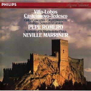 Villa-Lobos & Castelnuovo-Tedesco Guitar Concertos; Rodrigo: Sones En La Giralda