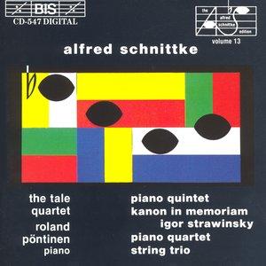 Schnittke: Piano Quintet / String Trio / Piano Quartet / Canon