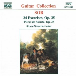 SOR: 24 Exercises, Op. 35 / Pieces de Societe, Op. 33