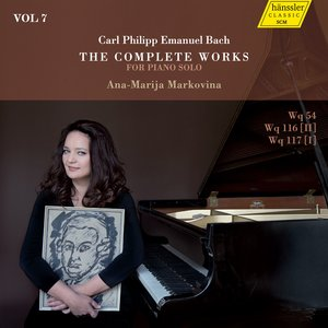 C.P.E. Bach: The Complete Works for Piano Solo, Vol. 7