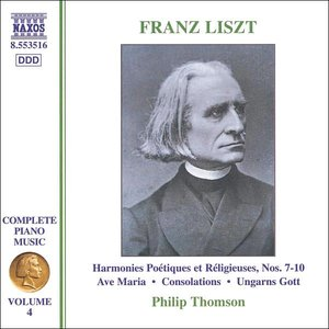 Liszt: 6 Consolations / Ave Maria