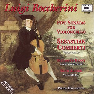 Boccherini: 5 Sonatas for Violoncello