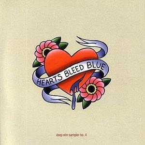 Deep Elm Sampler No. 4 - Hearts Bleed Blue