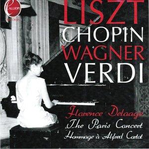 Florence Delaage Plays Liszt, Chopin, Wagner & Verdi