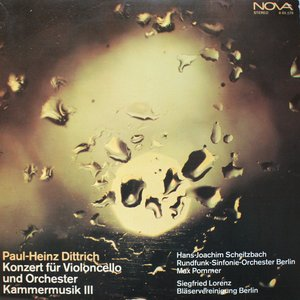 Konzert Für Violoncello Und Orchester / Kammermusik III