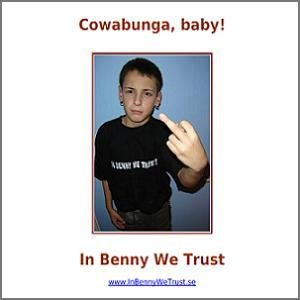 Cowabunga, baby!
