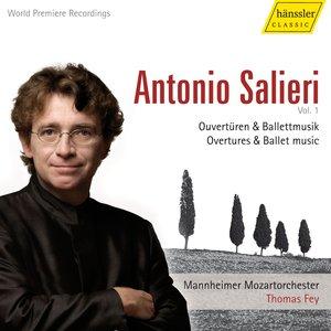 Salieri: Overtures and Ballets, Vol. 1 - Armida / Daliso E Delmita / Pafio E Mirra Ossia I Prigionieri Di Cipro / Der Rauchfangkehrer