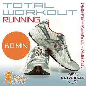 Image for 'Total Workout Running 102 - 135 - 84bpm Ideal For Jogging, Running, Treadmill & General Fitness'