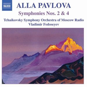 PAVLOVA: Symphonies Nos. 2 and 4