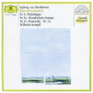 """Beethoven: Piano Sonatas Nos.8 """"Pathétique"""", 14 """"Moonlight"""", 15 """"Pastorale"""" & 24"""
