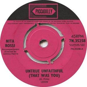 Untrue Unfaithful (That Was You)
