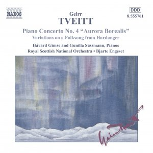 TVEITT: Piano Concerto No. 4 / Variations on a Folk Song
