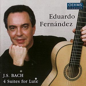 Bach: 4 Suites for Lute
