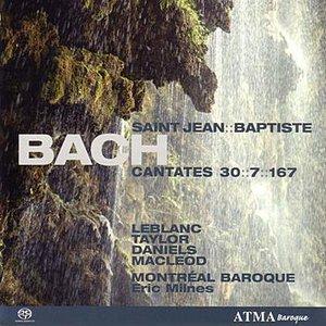 "Image for 'BACH - Cantatas 7, 30, 167 ""St. John the Baptist""'"