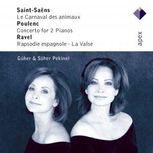 Saint-Saëns, Poulenc, Infante & Ravel : Piano Works
