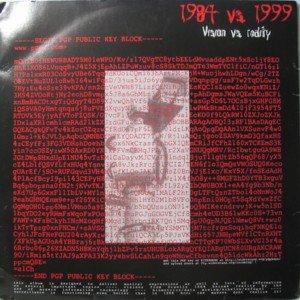 1984 vs. 1999