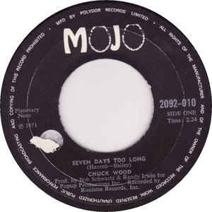 Seven Days Too Long / Soul Shing-A-Ling