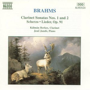 Image for 'Brahms: Clarinet Sonatas'