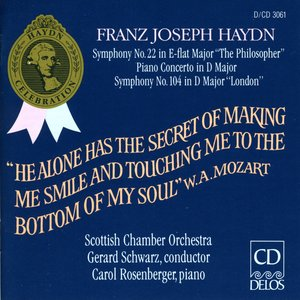 Haydn, F.J.: Symphonies Nos. 22 and 104 / Piano Concerto in D Major