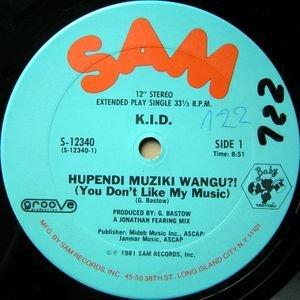 Album artwork for Hupendi Muziki Wangu?! (You Don't Like My Music) by K.I.D.