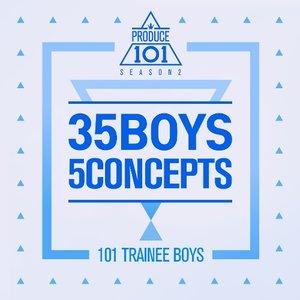 PRODUCE 101 - 35 Boys 5 Concepts