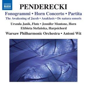 Penderecki: Fonogrammi - Horn Concerto