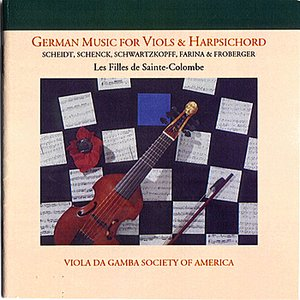 Image for 'German music for Viols and Harpsichord'