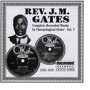Rev. J.M. Gates Vol. 7 (1929-1930)