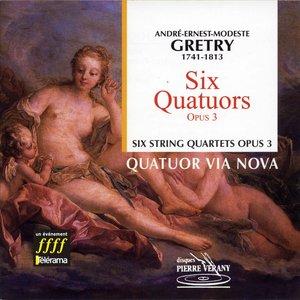 Gretry : Six quatuors, Op. 3