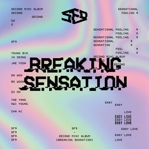 SF9 2nd Mini Album [Breaking Sensation]