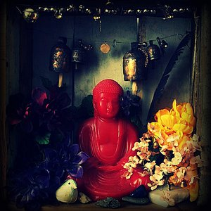 Little Red Buddha