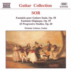 SOR: 25 Progressive Studies, Op. 60 / Fantaisie Elegiaque