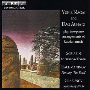 GLAZUNOV: Symphony No. 6 (arr. for 2 pianos)