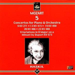 Mozart - 5 Concertos for Piano & Orchestra