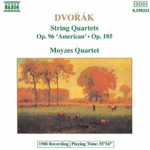 Image for 'DVORAK: String Quartets Op. 96, 'American' and Op. 105'