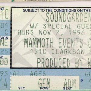 1996-11-07: Mammoth Events Center, Denver, CO, USA