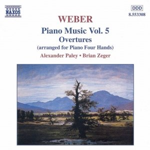 WEBER: Overtures (Piano Arrangement)