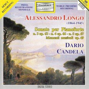 Image for 'Alessandro Longo : Sonate per Pianoforte'