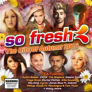 So Fresh The Hits of Autumn 2016