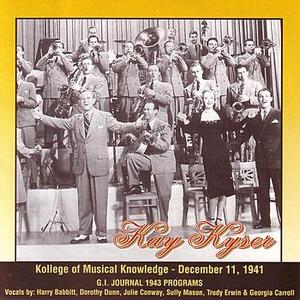 Kollege Of Musical Knowledge - December 11, 1941