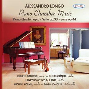 Image for 'Alessandro Longo: Piano Quintet Op.3 - Suite Op.33 - Suite Op.34'