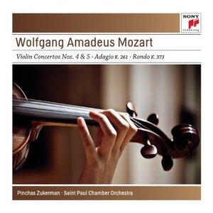 Mozart: Violin Concertos No. 4 K218 & No. 5 K.219; Adagio K261; Rondo K373 - Sony Classical Masters