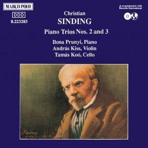 SINDING: Piano Trios Nos. 2 and 3